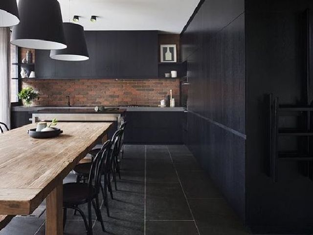 in black modern kitchen design ideas kyxni com rh kyxni com modern kitchen design black and white modern kitchen design black appliances